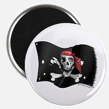 Caribbean Pirate Flag Magnet