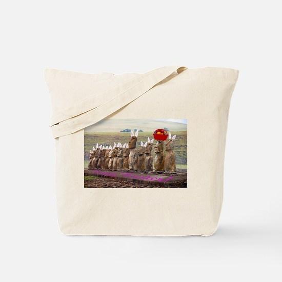 Easterislandeggsmeme Tote Bag
