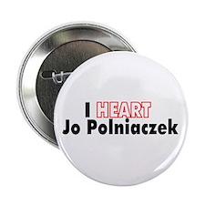 I HEART Jo Polniaczek Button