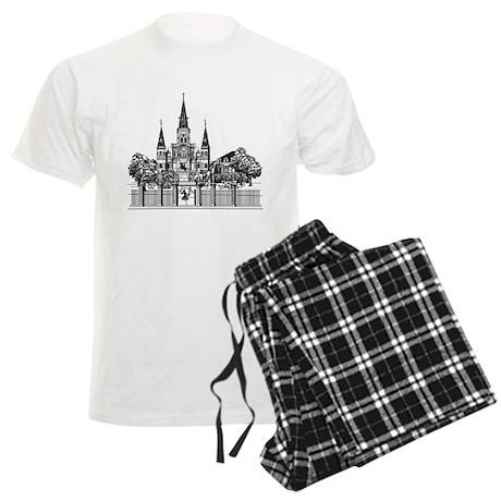 New Orleans Men's Light Pajamas