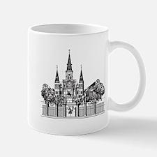 Black and White New Orleans Mug