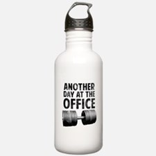 Another day at the office Water Bottle