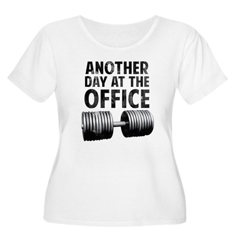 Another day at the office Women's Plus Size Scoop