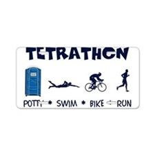 Men's Tetrathon Aluminum License Plate