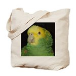 Wasabi/ Double Yellow-headed Tote Bag