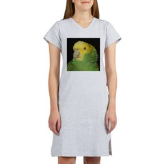 Wasabi/ Double Yellow-headed Women's Nightshirt