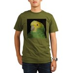 Wasabi/ Double Yellow-headed Organic Men's T-Shirt