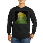 Wasabi/ Double Yellow-headed Long Sleeve Dark T-Sh