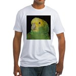 Wasabi/ Double Yellow-headed Fitted T-Shirt