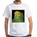 Wasabi/ Double Yellow-headed White T-Shirt