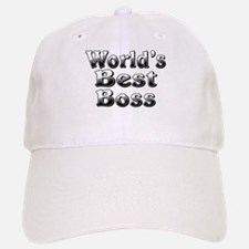 WORLDS BEST Boss Baseball Baseball Cap