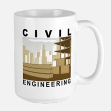 Engineer Builder Architect Large Mug