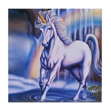 Unicorn Falls Tile Coaster