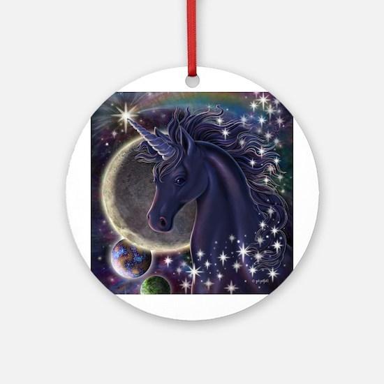 Stellar Unicorn Ornament (Round)