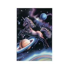 Celestial Unicorn Rectangle Magnet