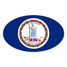 Virginia Flag Decal