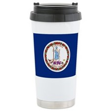 Virginia Flag Travel Mug