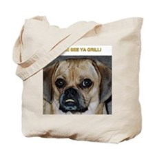Unique Animals, dogs, papillons Tote Bag