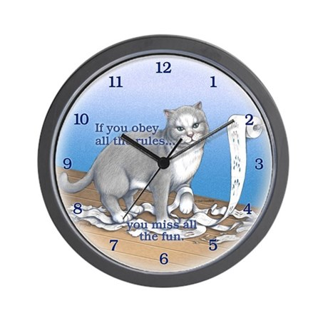TP Fun Wall Clock