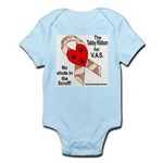 Tabby Ribbon Infant Creeper