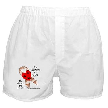 Tabby Ribbon Boxer Shorts
