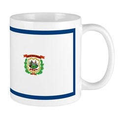 West Virginia Flag Mug