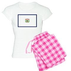 West Virginia Flag Pajamas