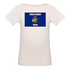 Wisconsin Flag Tee