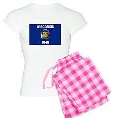 Wisconsin Flag Pajamas
