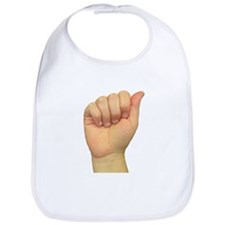 ASL Letter A Bib