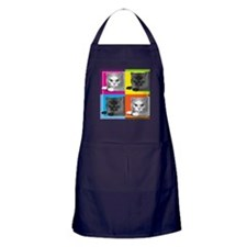 Cute Miss behavin Apron (dark)