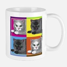 Pop Art Cat Mug