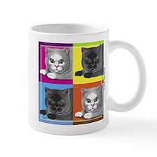 Pop Art Cat Mug