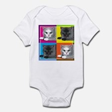 Pop Art Cat Infant Creeper