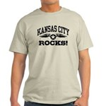 Kansas City Rocks Light T-Shirt