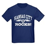Kansas City Rocks Kids Dark T-Shirt