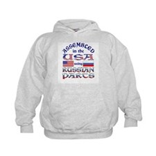USA / Russian Parts Hoodie