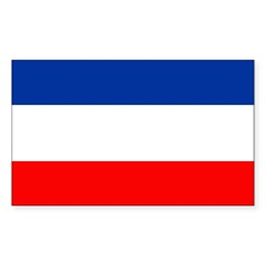 Yugoslavia Flag Decal