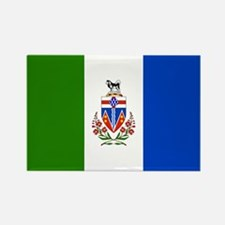 Yukon Territories Flag Rectangle Magnet (100 pack)