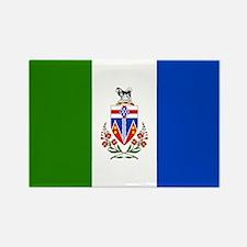 Yukon Territories Flag Rectangle Magnet