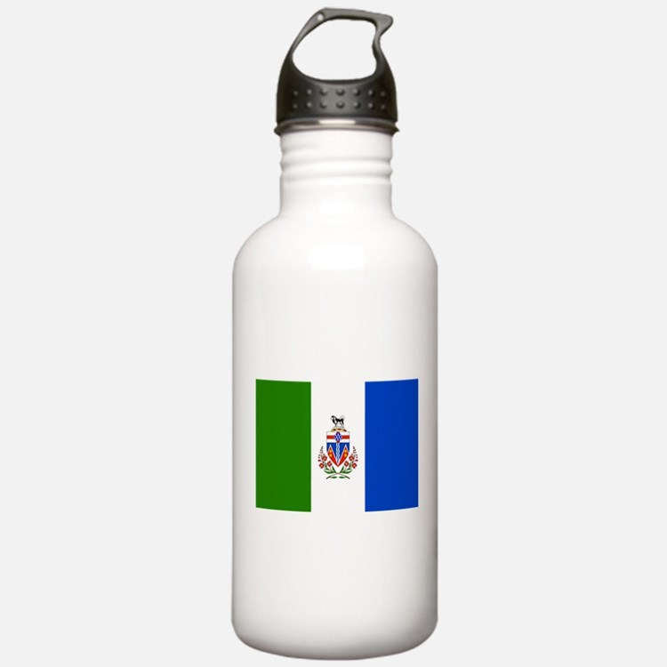Yukon Territories Flag Water Bottle