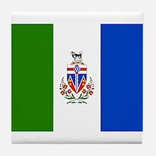 Yukon Territories Flag Tile Coaster