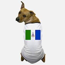 Yukon Territories Flag Dog T-Shirt