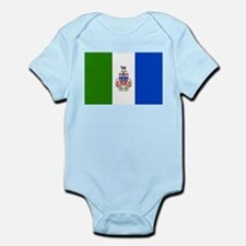Yukon Territories Flag Infant Bodysuit