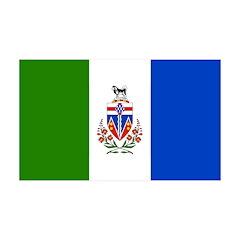 Yukon Territories Flag 38.5 x 24.5 Wall Peel