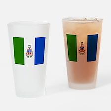 Yukon Territories Flag Drinking Glass