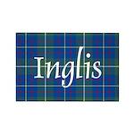 Tartan - Inglis Rectangle Magnet (10 pack)