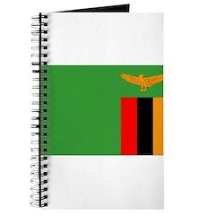 Zambia Flag Journal