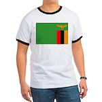 Zambia Flag Ringer T