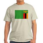 Zambia Flag Light T-Shirt